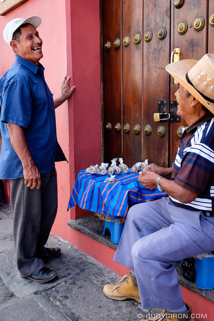 Rudy Giron: Antigua Guatemala &emdash; Vistas from Antigua Guatemala streets — The nut transaction