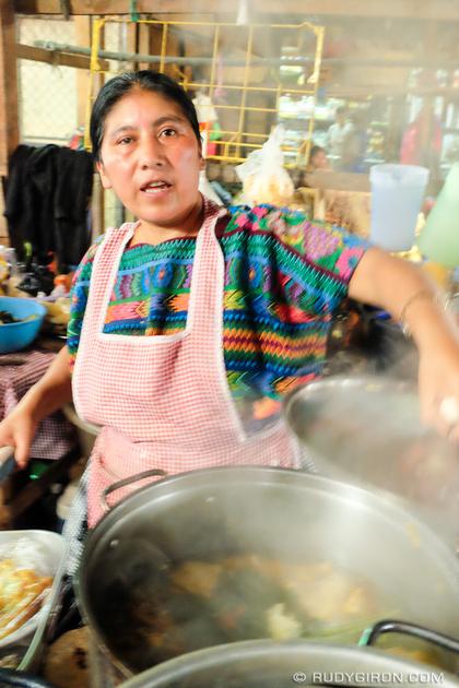Rudy Giron: Antigua Guatemala &emdash; Lunch for Q15 at the Mercado of Antigua Guatemala