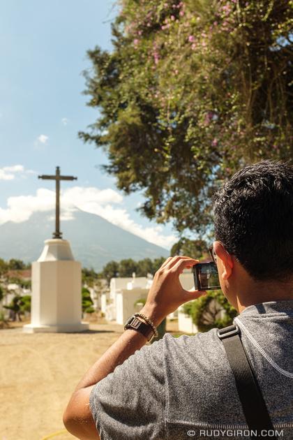 Rudy Giron: Antigua Guatemala &emdash; Documenting the necropolis of Antigua Guatemala