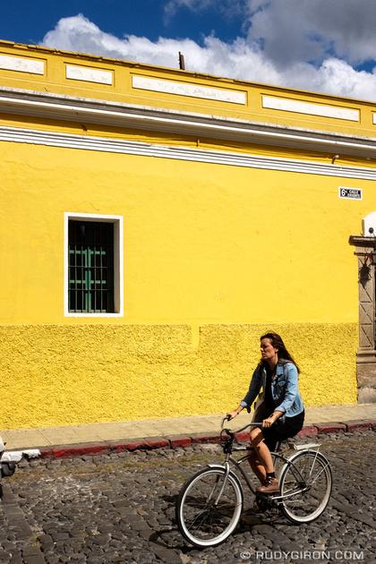 Rudy Giron: Antigua Guatemala &emdash; Vintage bicycles in Antigua Guatemala