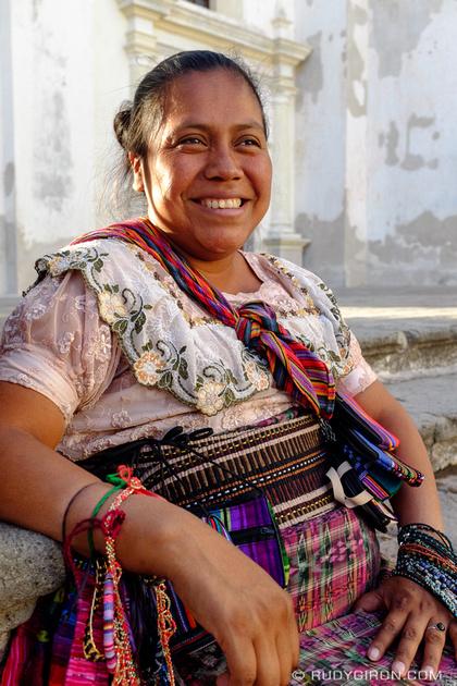Rudy Giron: Antigua Guatemala &emdash; Street Portraits of Strangers — The Handicrafts Vendor-2