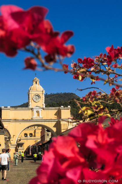 Rudy Giron: Antigua Guatemala &emdash; Weekends at Calle del Arco in Antigua Guatemala