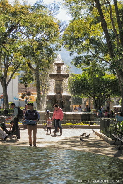 Rudy Giron: Antigua Guatemala &emdash; Sunshine and Temperate Weather in Antigua Guatemala