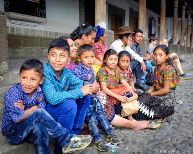 Rudy Giron: Antigua Guatemala &emdash; Street Portraits of Strangers — Maya Children-2