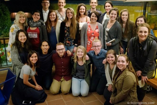 Rudy Giron: Antigua Guatemala &emdash; Bethel University Students in Antigua Guatemala