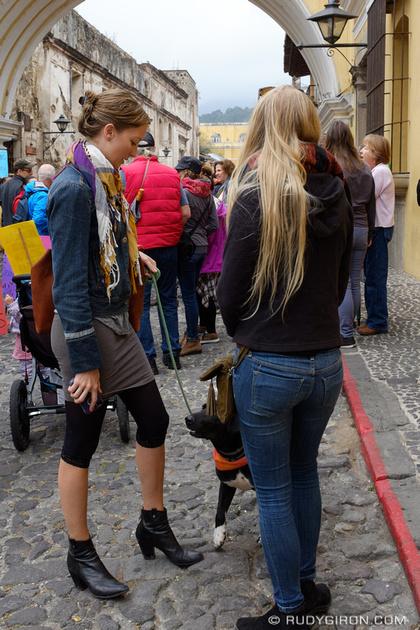 Rudy Giron: Antigua Guatemala &emdash; Women's March in Antigua Guatemala 6