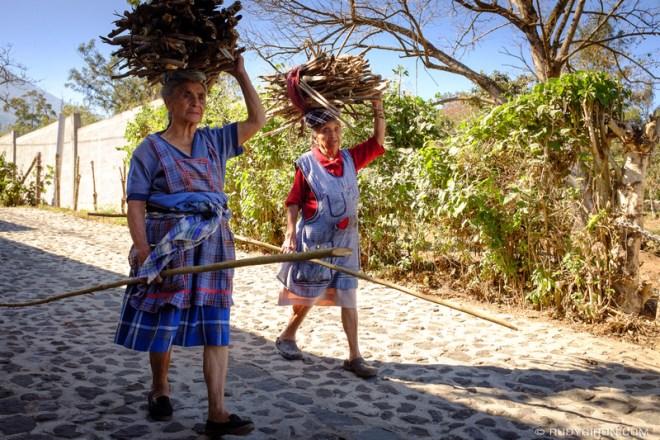 Rudy Giron: Antigua Guatemala &emdash; Collecting Renewable Wood Fuel