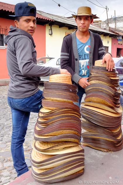 Rudy Giron: Antigua Guatemala &emdash; Antigua Guatemala Style Hats-R-Us_