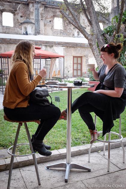 Rudy Giron: Antigua Guatemala &emdash; Coffee Makes Us Happy