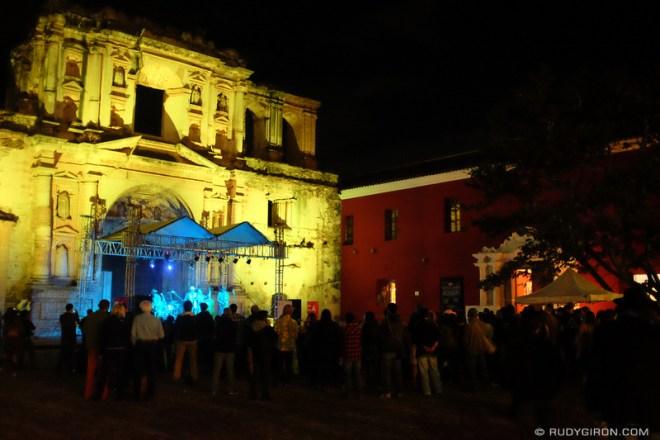 Rudy Giron: Antigua Guatemala &emdash; The Shuffle Demons at Guatemala's Jazz Festival in Antigua Guatemala 2