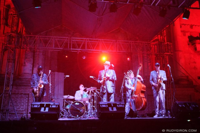 Rudy Giron: Antigua Guatemala &emdash; The Shuffle Demons at Guatemala's Jazz Festival in Antigua Guatemala