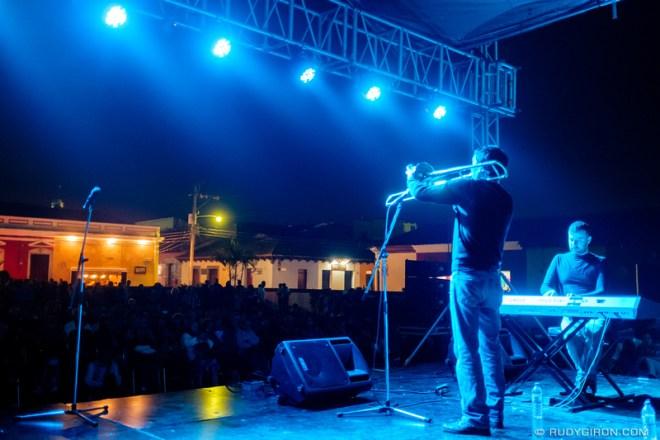 Rudy Giron: Antigua Guatemala &emdash; Duo Soupstar at Guatemala's Jazz Festival in Antigua Guatemala