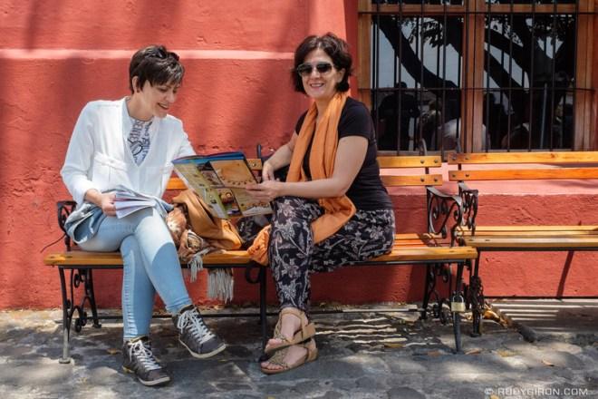 Rudy Giron: Antigua Guatemala &emdash; Daily Life Vistas — Using Maps and Guide Books
