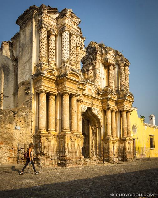 Rudy Giron: Antigua Guatemala &emdash; El Carmen Ruins