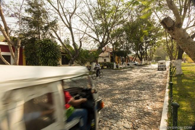 Rudy Giron: Antigua Guatemala &emdash; Tuk Tuk Rides in Alameda Santa Rosa, Antigua Guatemala