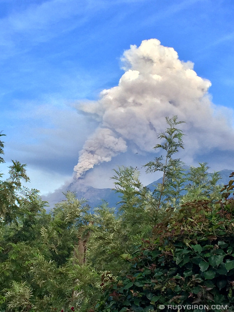 Rudy Giron: Antigua Guatemala &emdash; Volcán Fuego is having another period of intense activity again