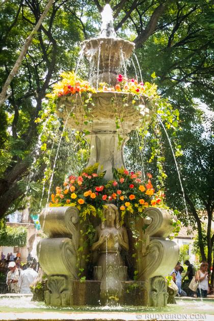 Rudy Giron: Antigua Guatemala &emdash; Día de Santiago Decorations