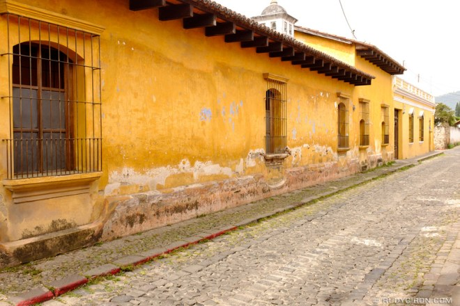 Rudy Giron: Antigua Guatemala &emdash; Lesser Known Antigua — Calle Belén in Antigua Guatemala