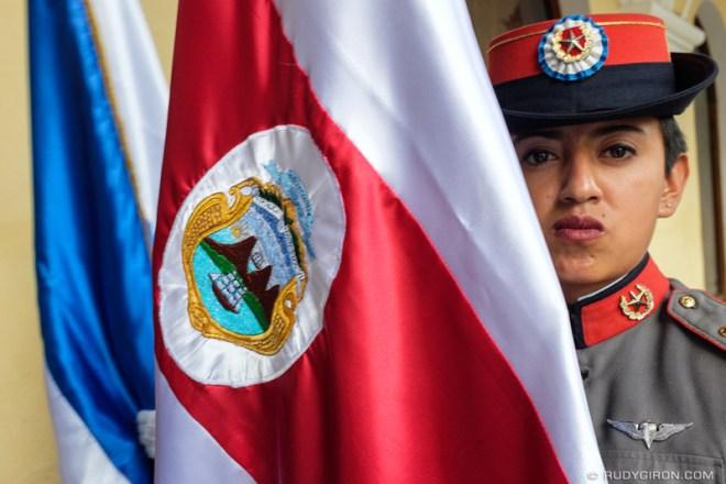 Rudy Giron: Antigua Guatemala &emdash; Pura Vida - Costa Rican Flag