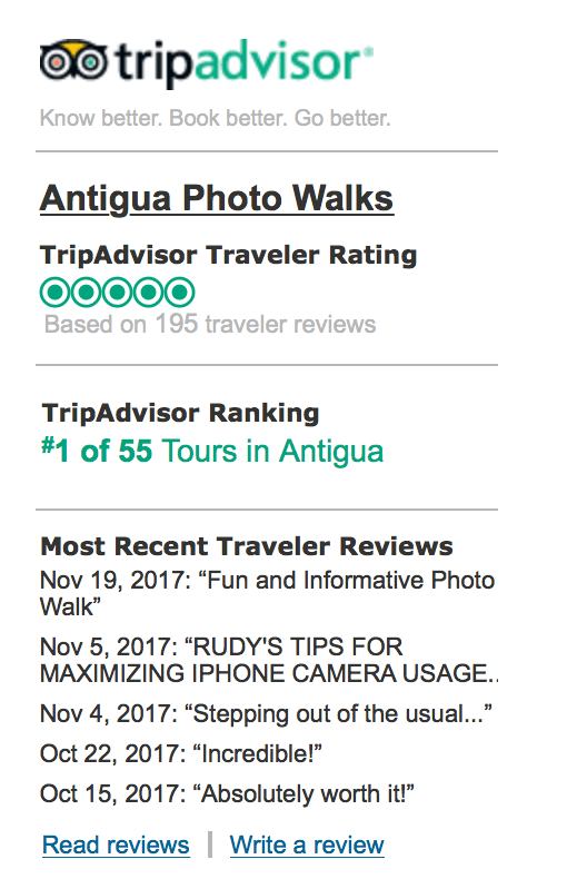 Antigua Photo Walks rated as the No. 1 activity to do in Antigua Guatemala