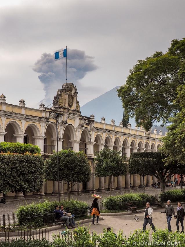 Rudy Giron: Antigua Guatemala &emdash; Real Palacio de los Capitanes in Antigua Guatemala