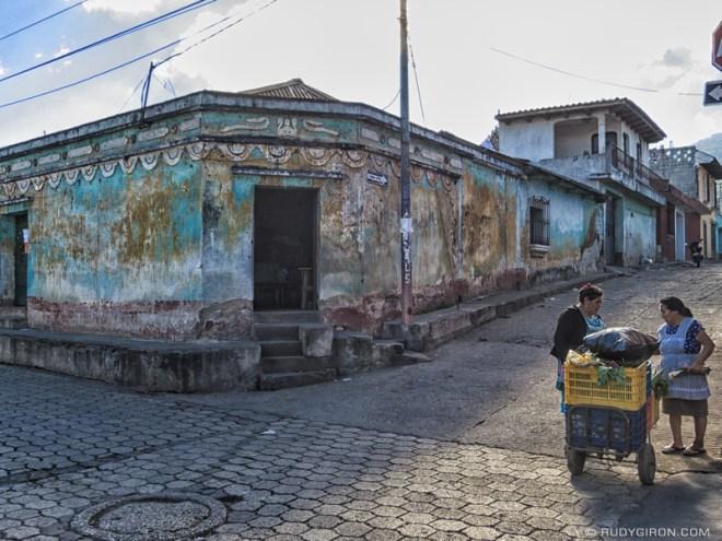 Rudy Giron: Antigua Guatemala &emdash; Ambulant vegetable vendor in Ciudad Vieja, Guatemala