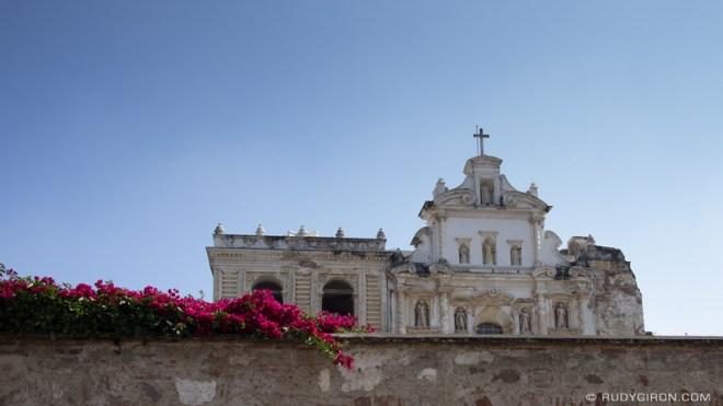 Rudy Giron: Antigua Guatemala &emdash; Top view of San Francisco El Grande