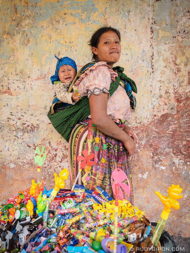 Rudy Giron: Antigua Guatemala &emdash; Street Portraits of Strangers — Maya toy vendor