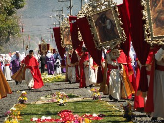 Palm Sunday Processions in Antigua Guatemala