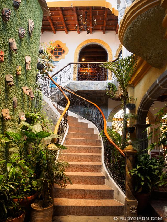 Rudy Giron: Antigua Guatemala &emdash; Best spots of Antigua — Staircase