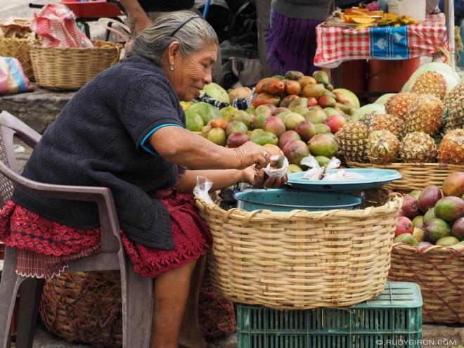 Rudy Giron: Antigua Guatemala &emdash; Fruits and coconut in syrup from Antigua Guatemala