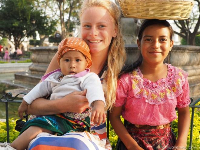 Rudy Giron: Antigua Guatemala &emdash; Antigua Makes Me Happy - People makes me happy