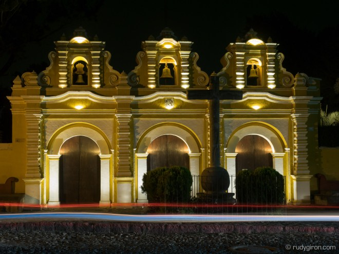 Night Photography Workshops in Antigua Guatemala with Rudy Giron