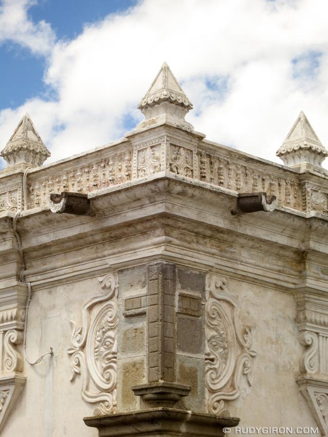 Moorish Architectonic Details from Antigua Guatemala by Rudy Giron