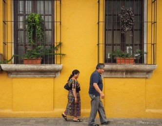 Typical Vistas from Antigua Guatemala by Rudy Giron