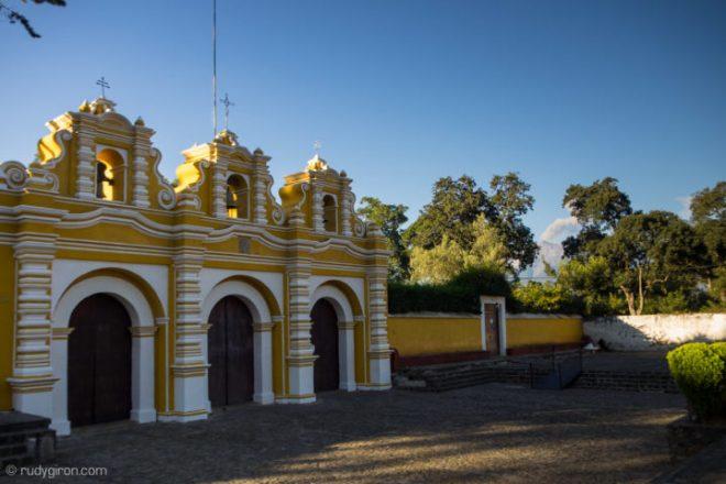 Façade of Iglesia del Calvario in Antigua Guatemala BY RUDY GIRON
