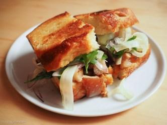 Foodie Alert: Pacetta Focaccia Sandwich from Kombu BY RUDY GIRON