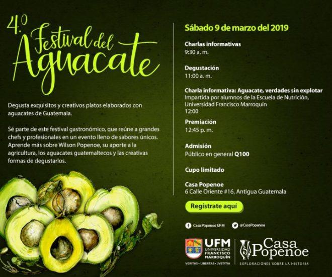 4o Festival del Aguacate en Antigua Guatemala