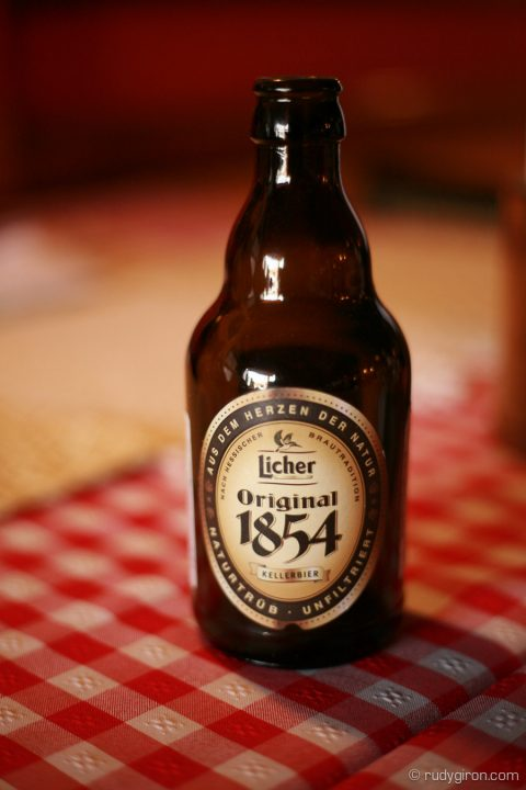 Bottle of Licher beer by RUDY GIRON