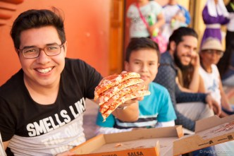 Pizza for the masses during Lent BY RUDY GIRON