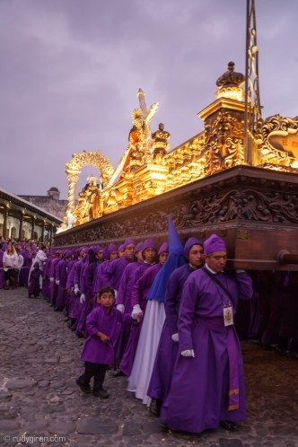 San Francisco El Grande Procession on Maundy Thursday BY RUDY GIRON
