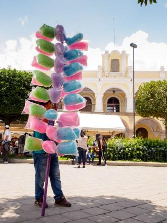 Antigua Ambulant Street Vendors - Cotton Candy