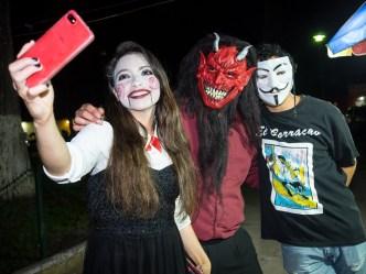 Portraits of Selfies — La Belleza, El Diablo and El Borracho BY RUDY GIRON