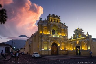 Cloudscapes in Antigua Guatemala BY RUDY GIRON