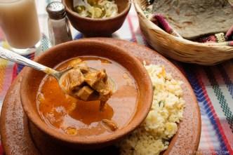 PHOTO STOCK: Guatemalan Food — Revolcado Stew