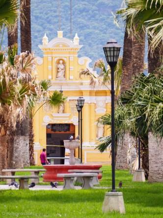 Parque de La Unión in Antigua Guatemala