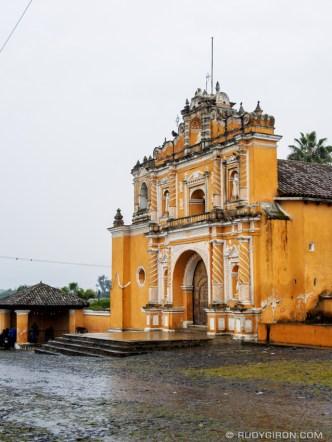 Rainy Season Vistas: Parroquia de San Pedro Las Huertas, Antigua Guatemala