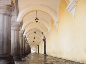 Portal del Real Palacio de La Cultura