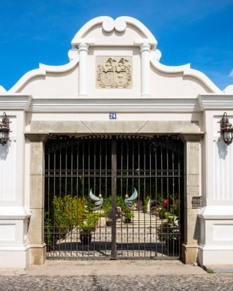Entrance Doorway to Casa Pensativo