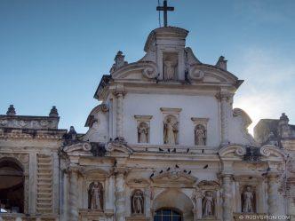 Detail of the Façade of Iglesia de San Francisco El Grande